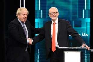 Election debate: Boris and Jermey clash over NHS future