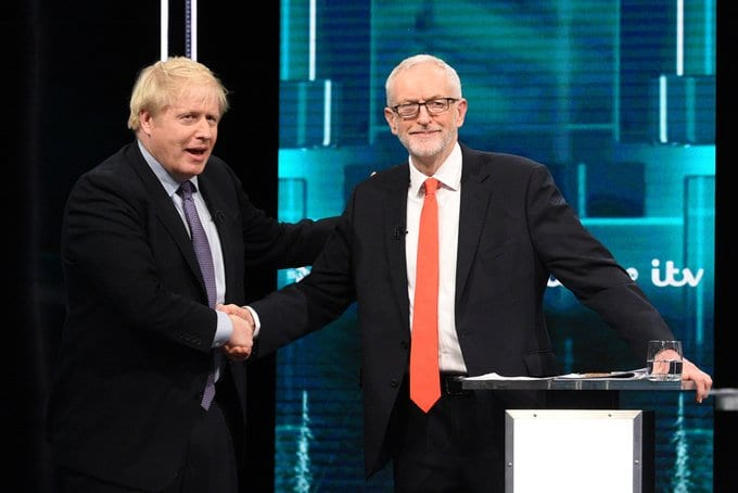 Election debate: Boris and Jermey clash over NHS future