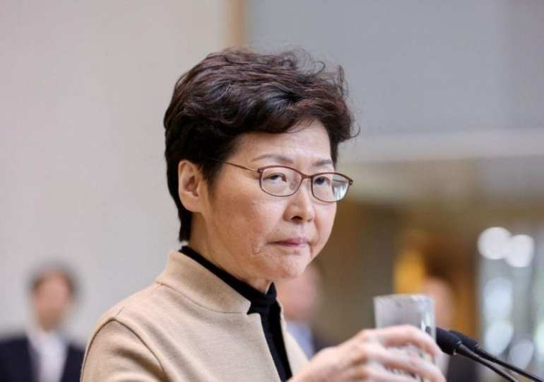 Hong Kong campus protesters must surrender: Carrie Lam