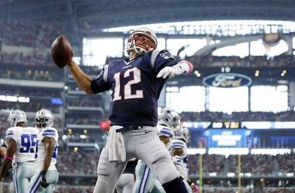 NFL -Pats beat cowboys