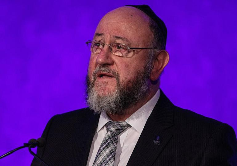 Chief Rabbi attacks Labour and anti-Semitism record