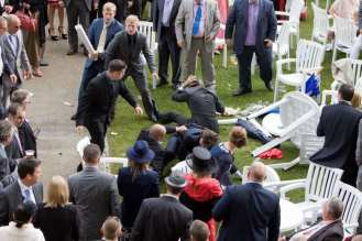 Nine men handed prison sentences over Goodwood mass brawl