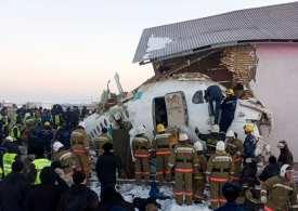 15 killed as Bek Air flight goes down hitting a building