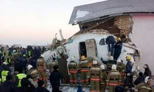 15 killed as Bek Air flight goes down hitting a building in Kazakhstan