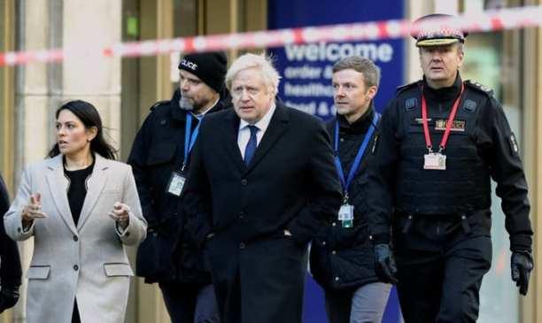 Boris visits scene of London Terror attack