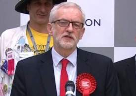 Breaking: Corbyn to step down as Labour leader - media bias driven him out!