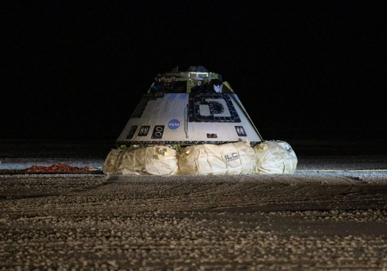 Boeing Starliner returns after failed mission to ISS