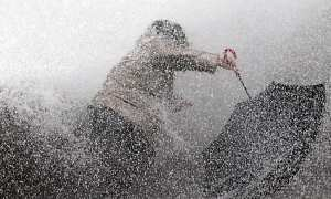 Storm Fabian batters France's southwest Aquitaine coast