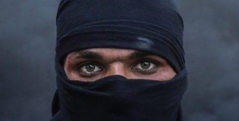 Iraqi protester