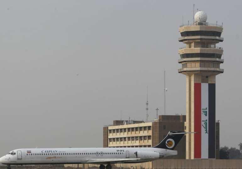 Rockets near Baghdad airport