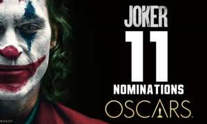 Joker leads with 11 nods