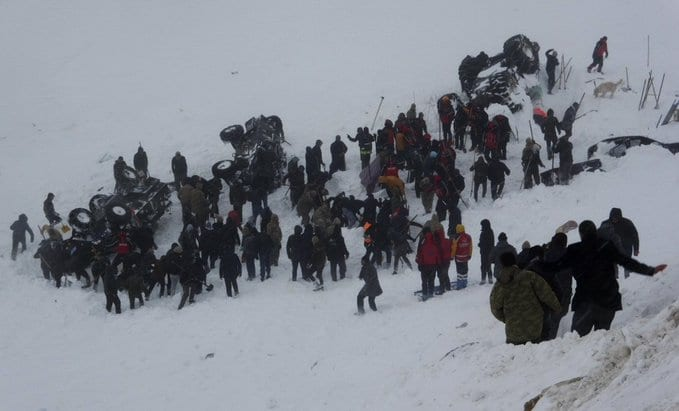 Second Avalanche: 33 people killed in Turkish avalanche