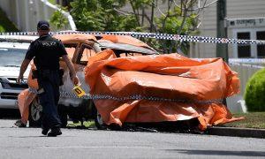 4 dead in horrific car fire