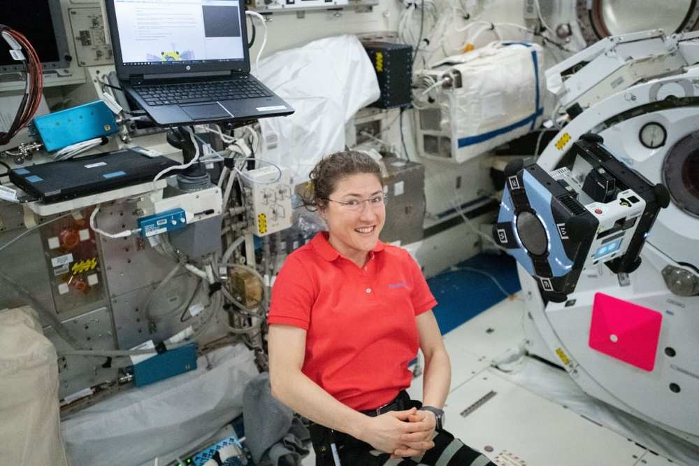 koch on the ISS