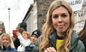 who is carrie symonds