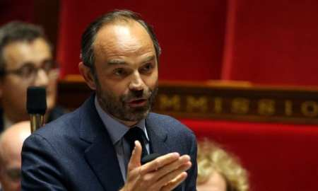 French Prime Minister Edouard Philippe announces the process of lifting the lockdown measures