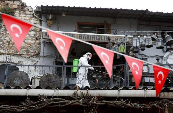 Turkey's coronavirus cases overtake Iran, highest in Middle East
