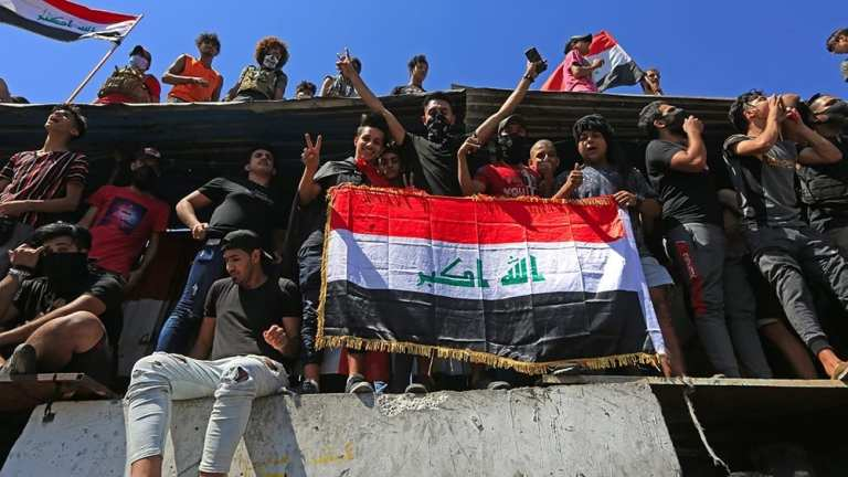Hundreds gather in Baghdad in new round of anti-gov protests