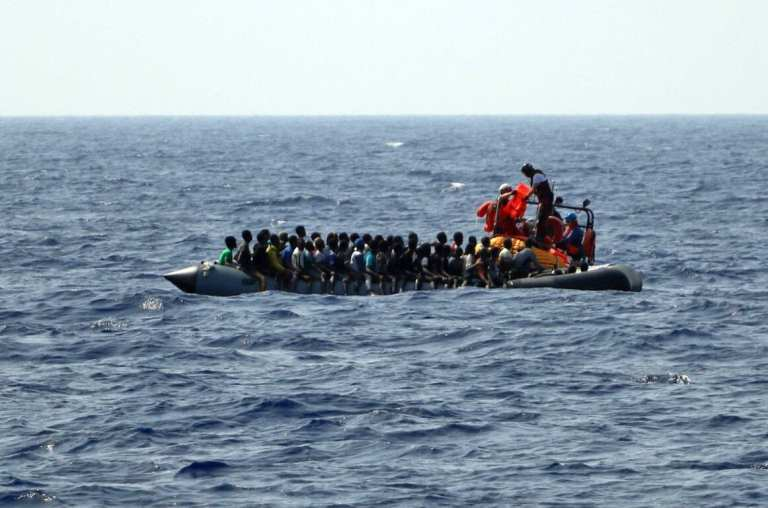 Virus not stopping migrants from heading to Europe