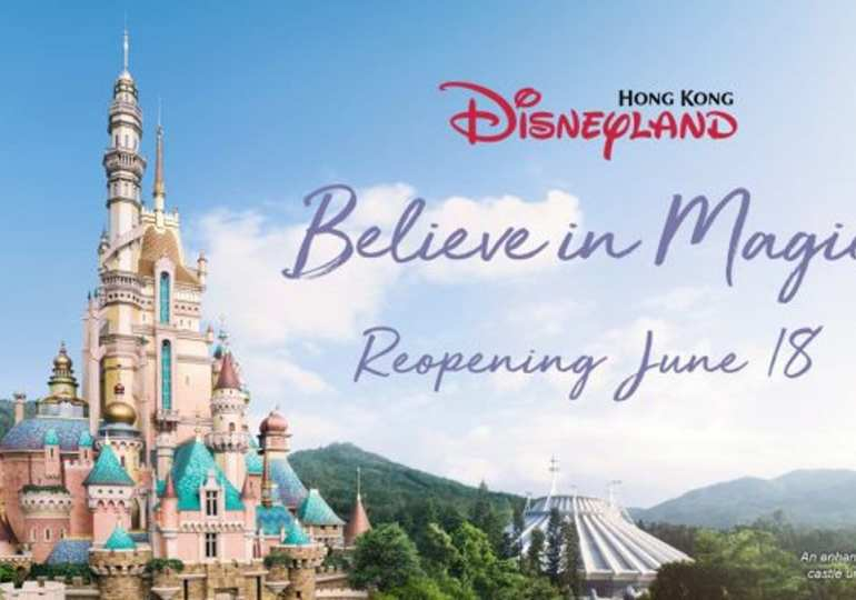 Hong Kong Disneyland to reopen with virus safeguards