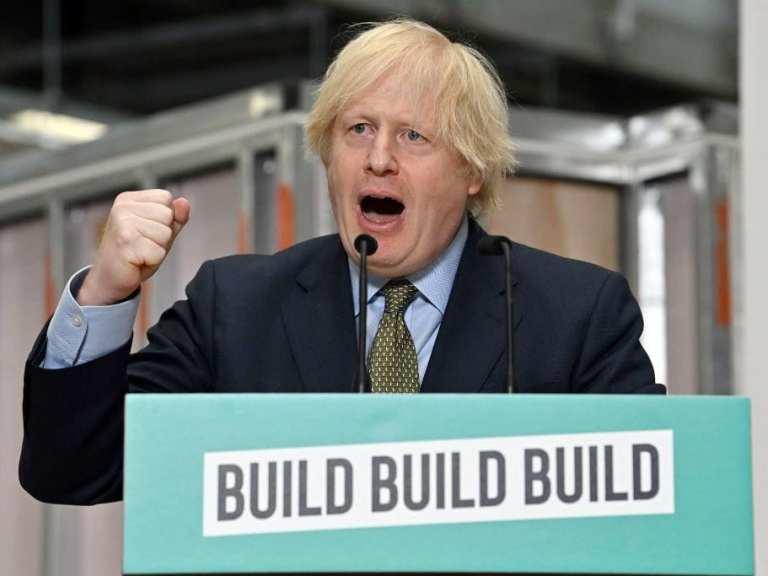 Boris Johnson announces £5bn plan