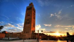 Masjid e Koutoubia is a popular tourist attraction located in the centre of Marrakech but will be open for prayers on July 15th
