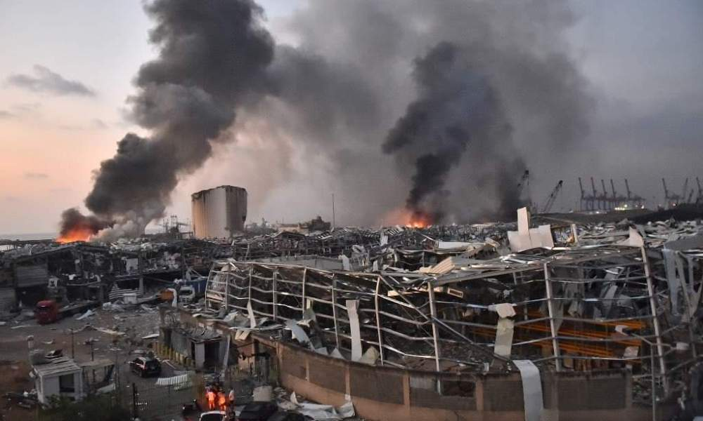 Beirut wakes to scenes of devastation after horrific port explosion, over 100 dead thousands wounded