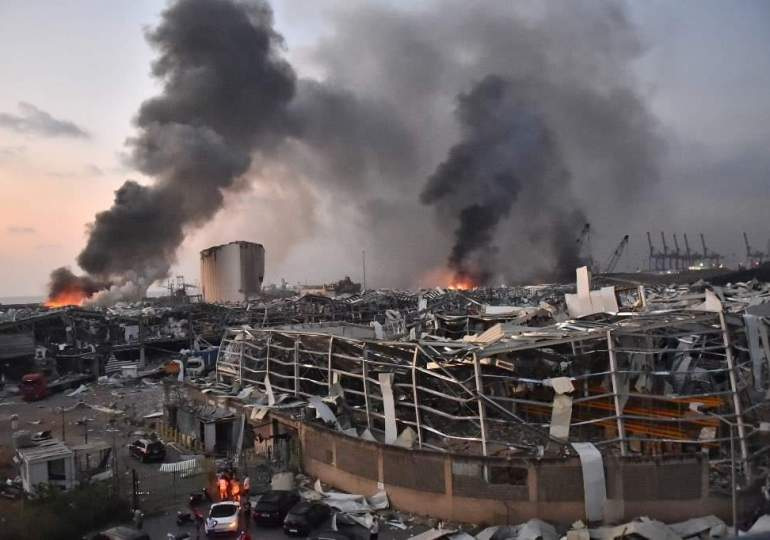Beirut wakes to scenes of devastation after horrific port explosion, over 100 dead, thousands wounded
