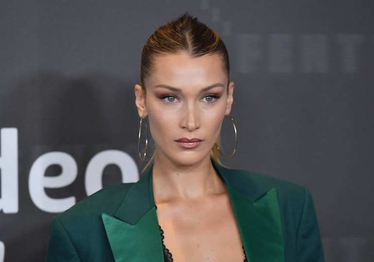 Bella Hadid cleans out her closet for a good cause