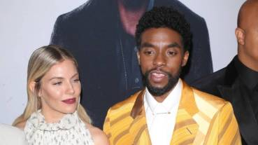 Black Panther star Chadwick Boseman raised co-star Sienna Miller's pay with his own salary