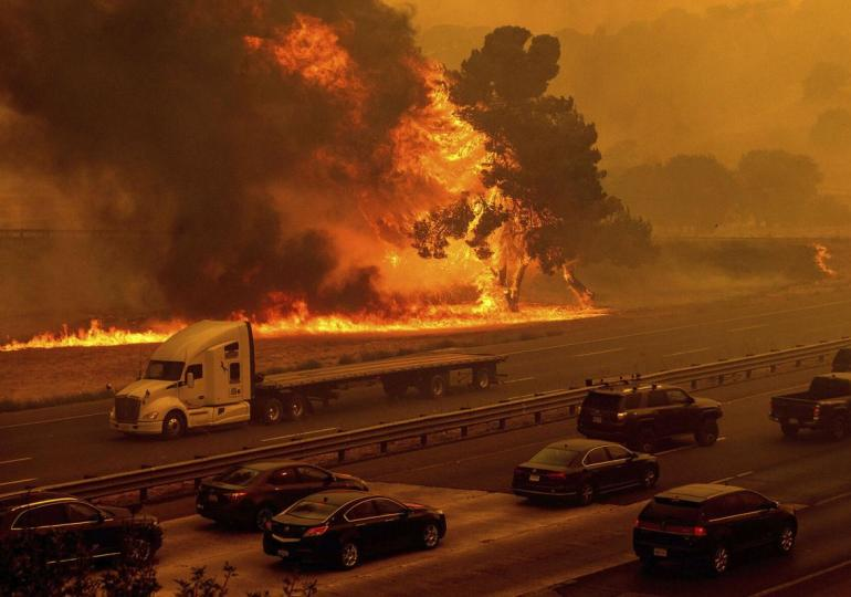 California wildfires burn through 2 million acres, as blazes continue to spread
