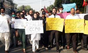 Protests over the gang rape investigation