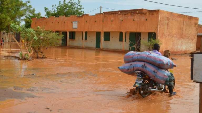 The reason behind this year's massive floods of the Niger