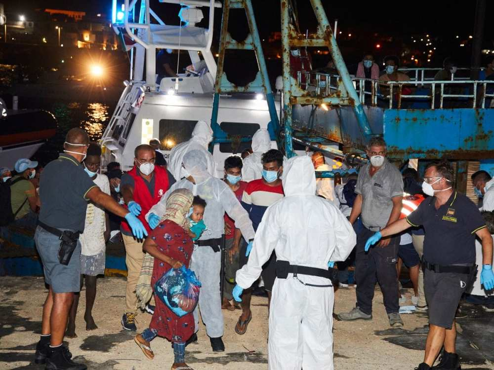 migrants blamed for rise in Covid-19 cases