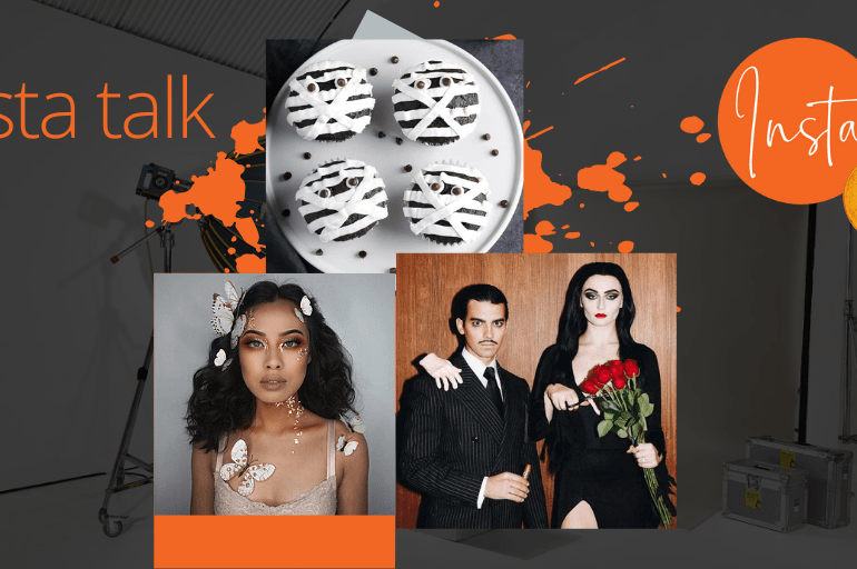 Insta Talk e11: Halloween Special - Classy fashion, Cute makeup looks & vegan cupcakes!
