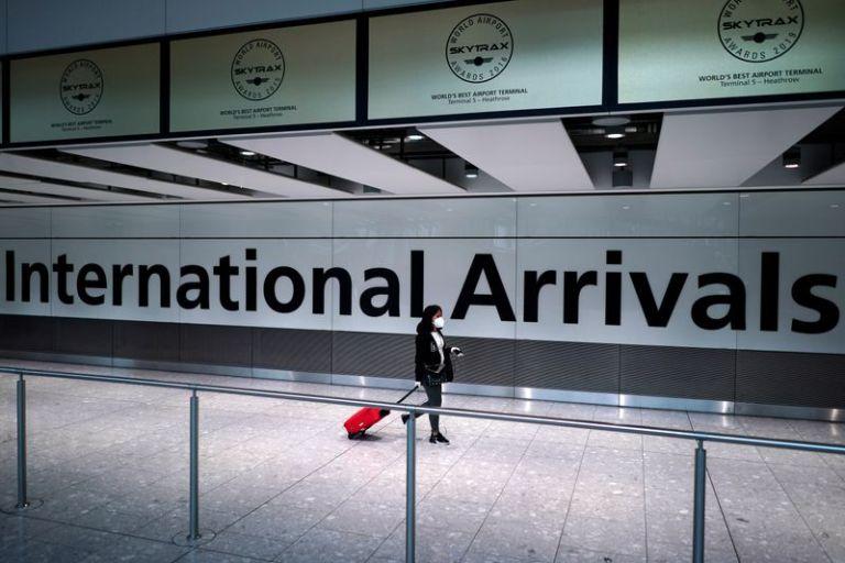UK airports following new quarantine rules