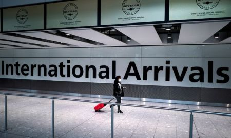 UK airports following new quarantine rules