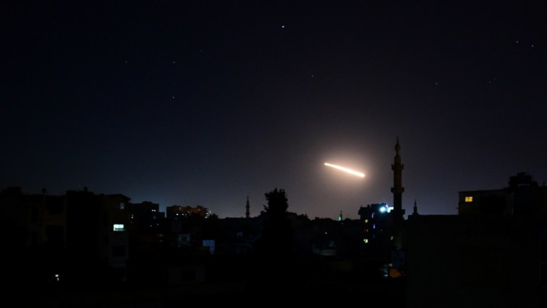 3 killed after Syria air defenses repel 'Israeli aggression' over Damascus, Tel Aviv says it retaliated
