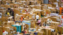Amazon staff in the UK to get pay bonus in the run-up to Christmas