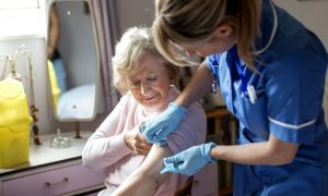 Free flu jabs offered to all over 50s in 'winter like no other'