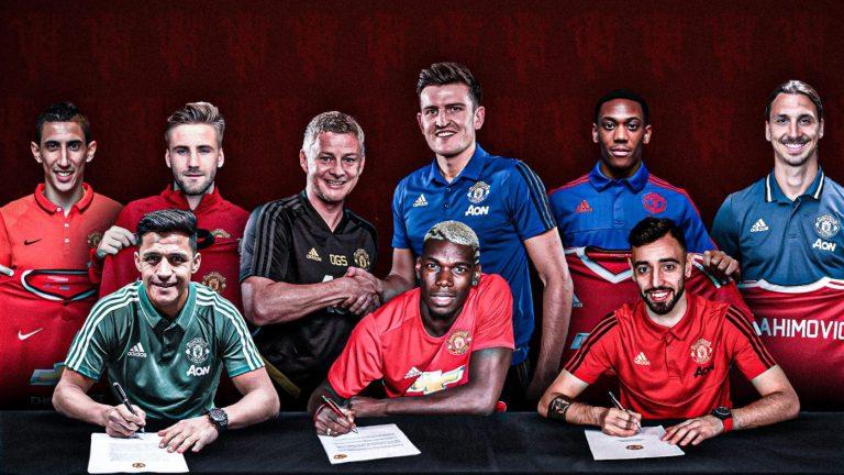Man Utd's £1bn spent since Sir Alex Ferguson left in 2013