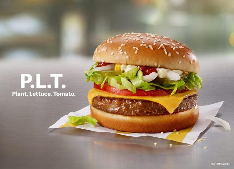McDonald's launching meatless 'McPlant' burger