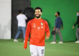 Mo Salah returns to training after Covid-19 test