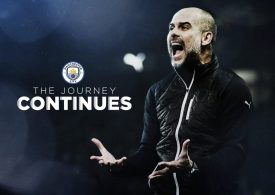 Manchester City Pep Guardiola boss signs new two-year deal