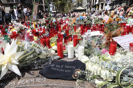 Tributes for the 2017 Barcelona attacks