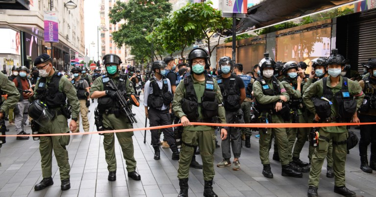 US sanctions more officials over China's crackdown in Hong Kong