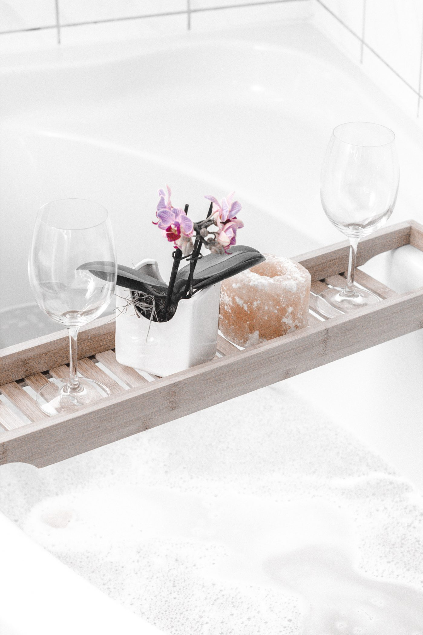 how to create a spa at home