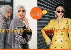 Insta Talk e17: Modest Fashion - Winter Skincare - Nutrient-dense foods - Vintage clothes