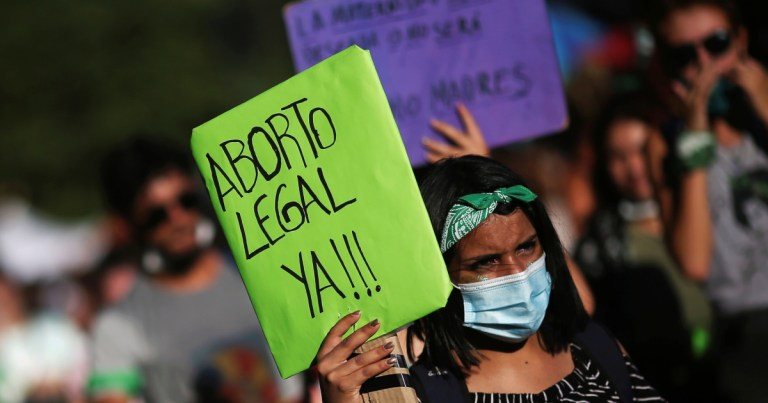 Argentina on the cusp of historic vote to legalise abortion