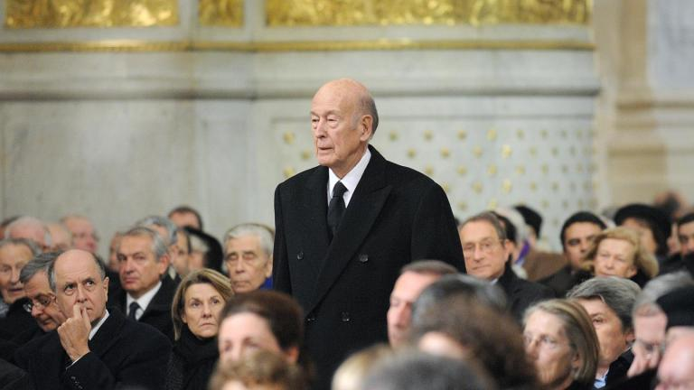 Ex-French leader Valery Giscard d'Estaing dies at age 94